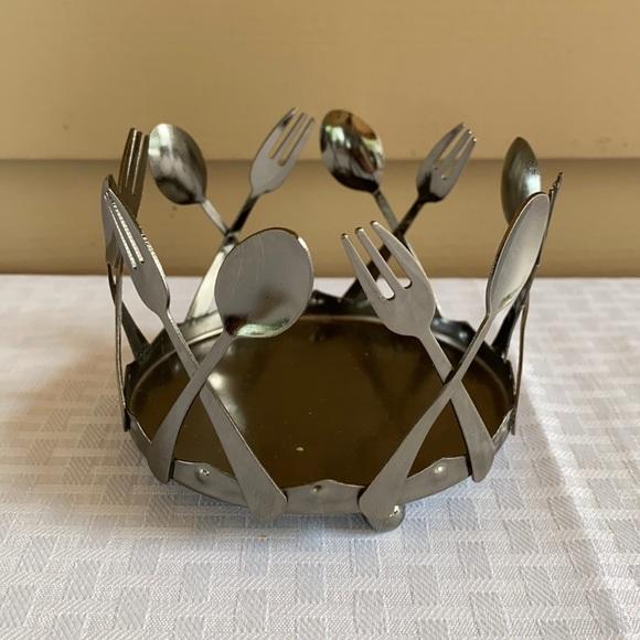 Yankee Candle Fork & Spoon Design Holder